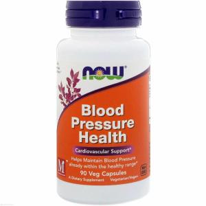 Нормализация давления, Blood Pressure, Now Foods, 90 капсул