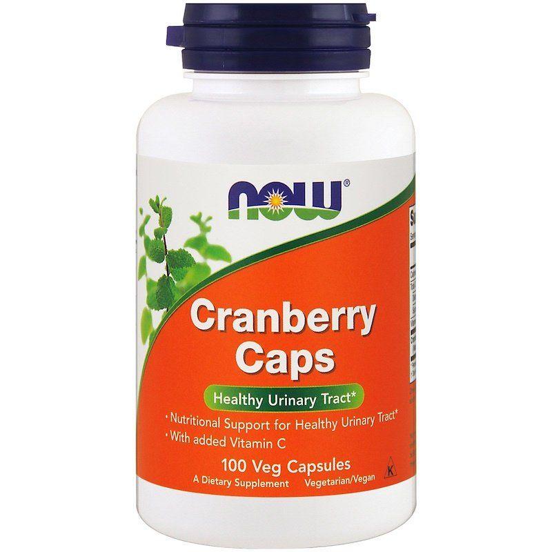 Клюква в капсулах, Cranberry, Now Foods, экстракт, 100 капсул