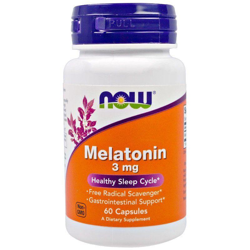 Мелатонин, Melatonin, Now Foods, 3 мг