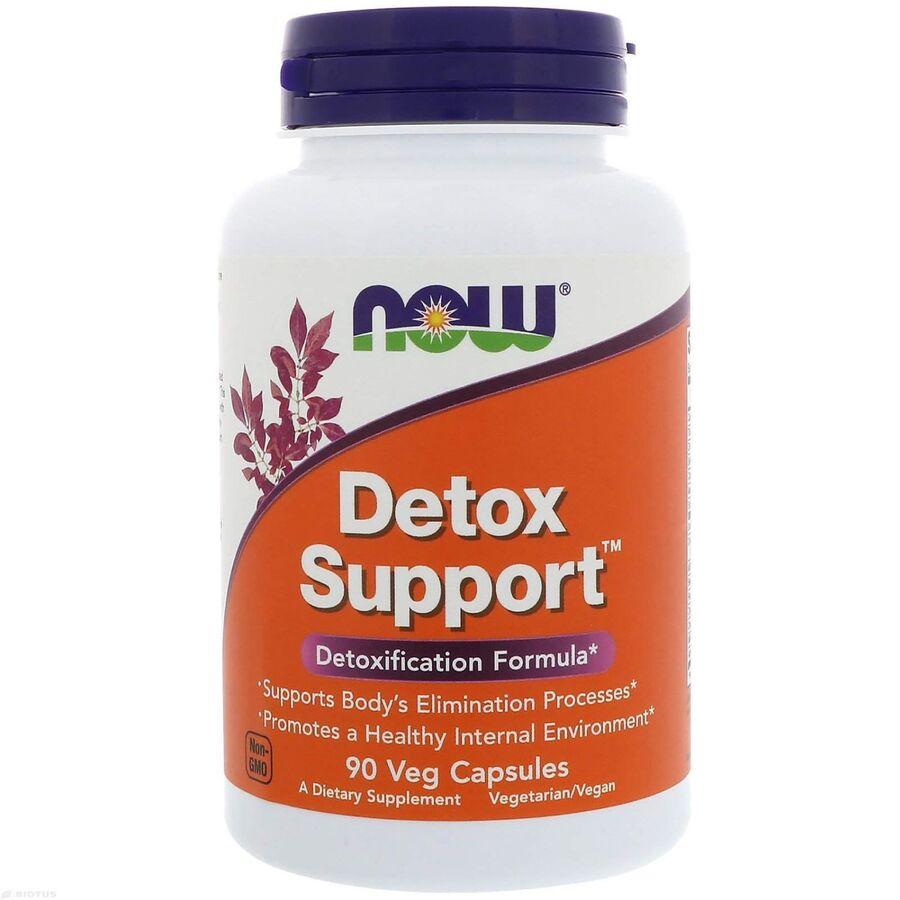 Очищение организма, Detox Support, Now Foods, 90 капсул