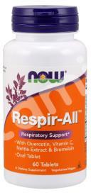 Иммунная смесь для горла, Respir-All, Now Foods, 60 таблеток
