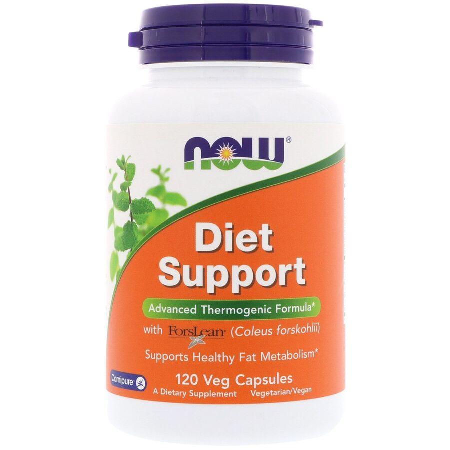 Диетическая поддержка, Diet Support with ForsLean, Now Foods, 120 капсул