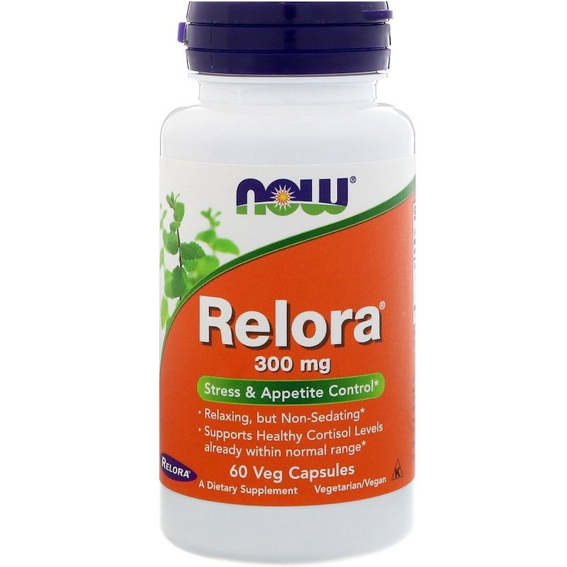Relora, Релора, Now Foods, 300 мг, 60 капсул