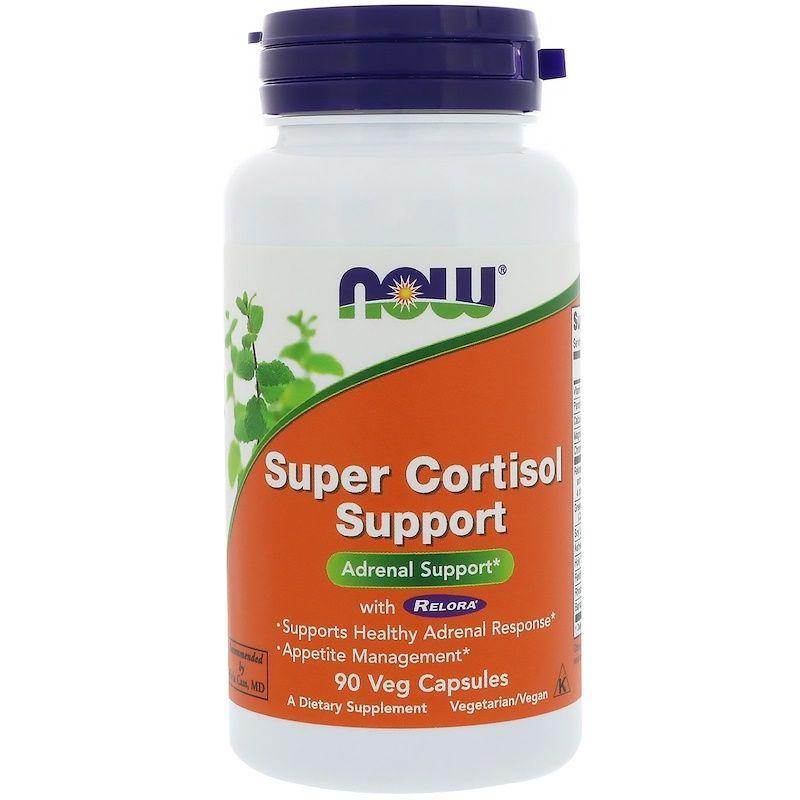 Снижение кортизола, Cortisol Support, Now Foods, 90 кап.