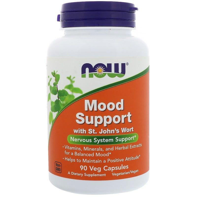 Поддержка настроения, Mood Support, Now Foods, 90 капсул