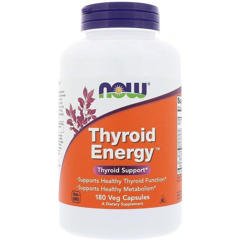 Для щитовидной железы, Thyroid Energy, Now Foods