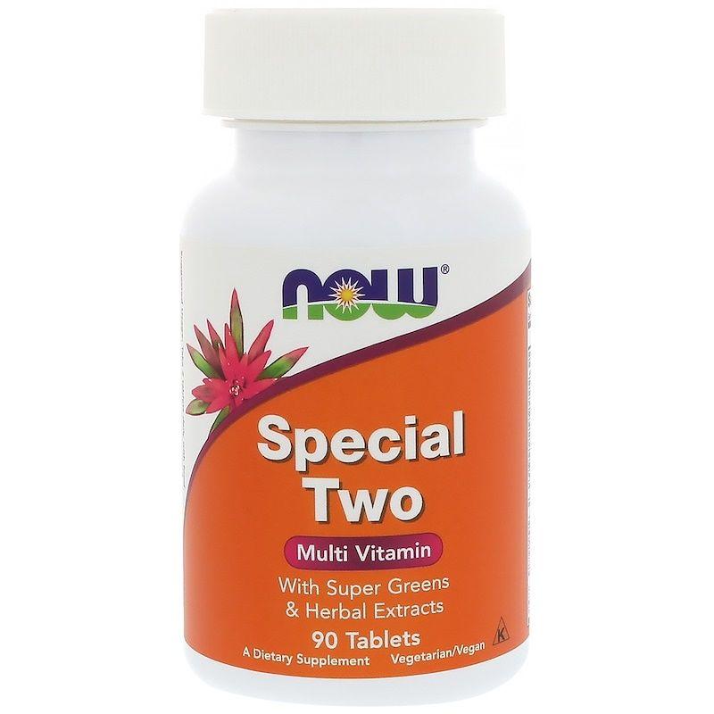 Мультивитамины, Special Two, Now Foods, 90 таблеток
