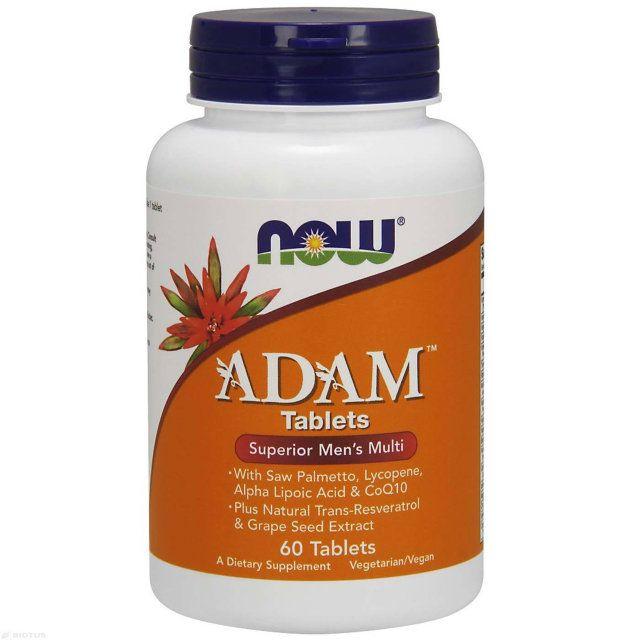 Витаминный комплекс Адам, Adam Men's Multi, Now Foods
