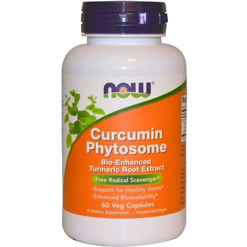 Куркумин, Curcumin, Now Foods