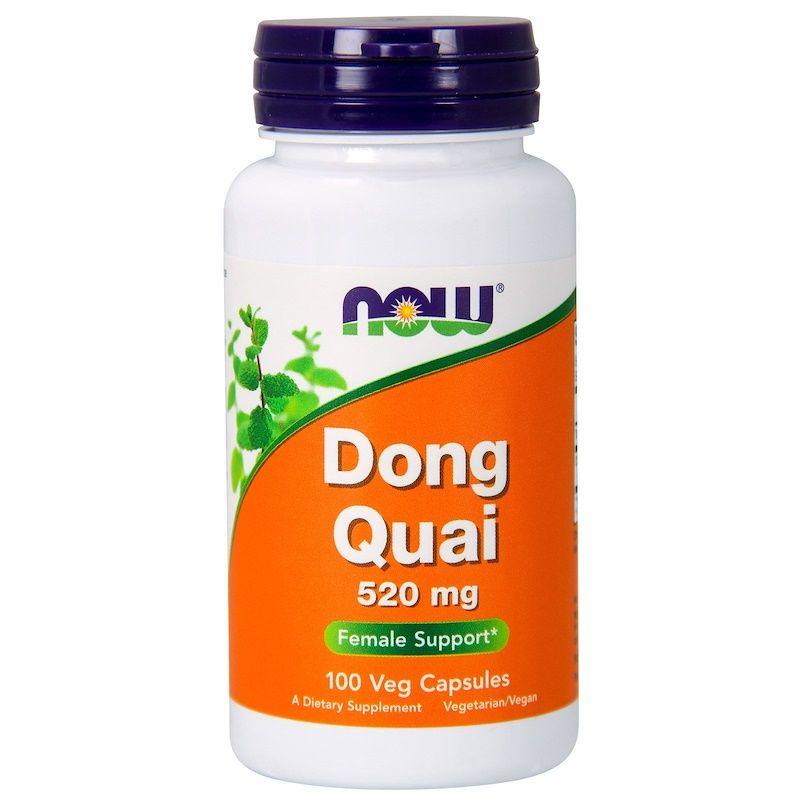 Дягиль лекарственный (Dong Quai), Now Foods, 520 мг, 100 капсул