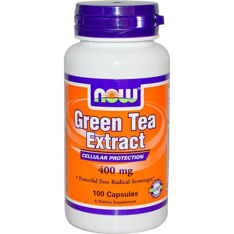 Экстракт зеленого чая, EGCg (Green Tea), Now Foods, 400 мг