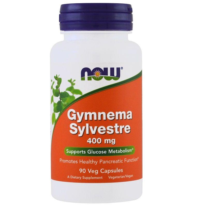 Джимнема Сильвестра, Gymnema Sylvestre, Now Foods, 400 мг, 90 капсул