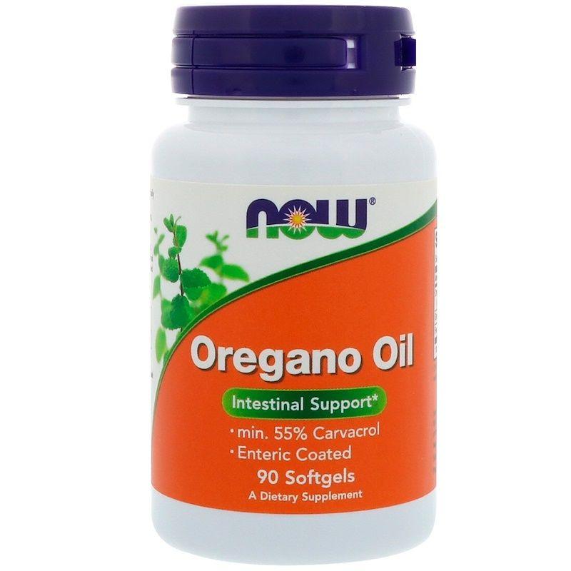 Масло орегано, Oregano Oil, Now Foods, 90 капсул