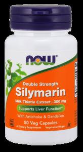 Силимарин, расторопша (Silymarin, Milk Thistle), Now Foods, 300 мг