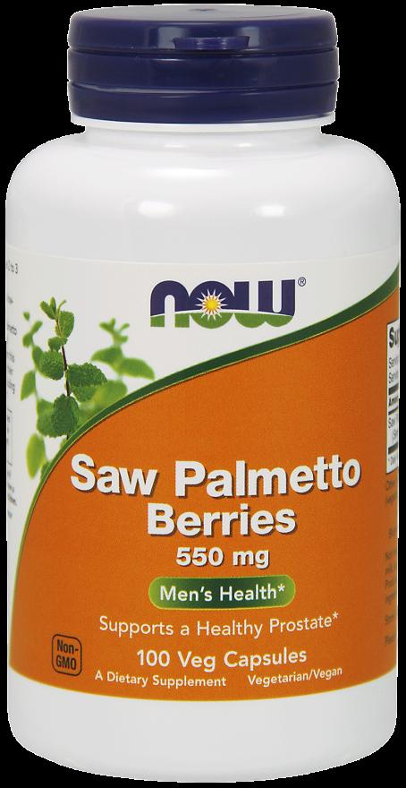 Со Пальметто, Now Foods, экстракт, 550 мг
