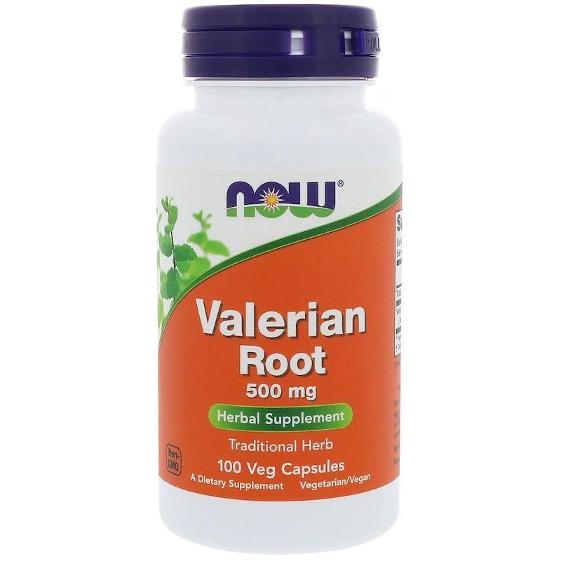 Корень Валерианы, Valerian Root, Now Foods, 500 мг