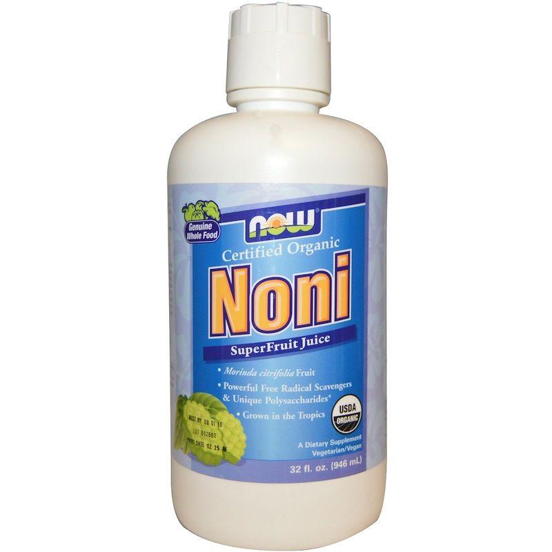 Сок Нони, Now Foods, 946 мл.