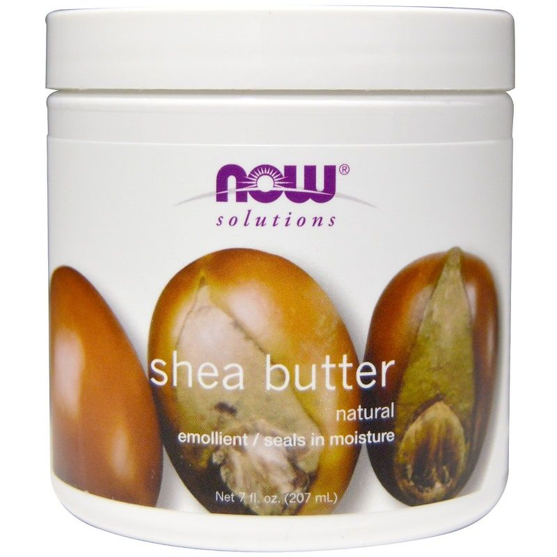 Масло ши, Shea Butter, Now Foods, Solutions, 207 мл