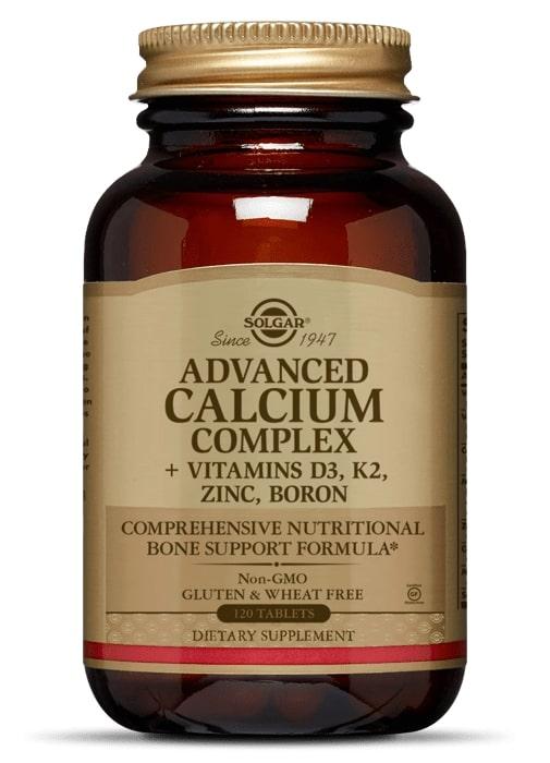 Комплекс кальция с витаминами, Solgar, 120 таблеток