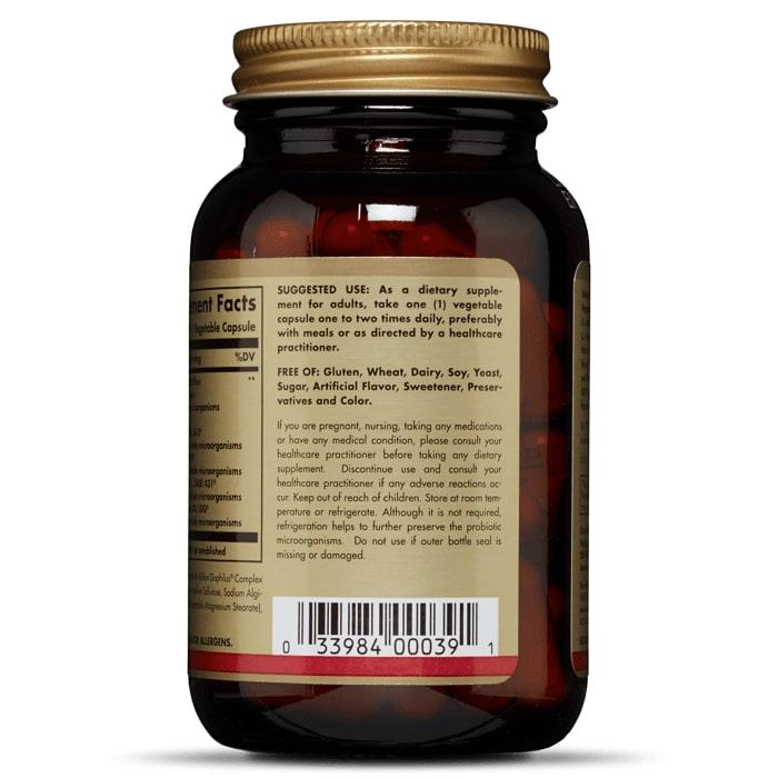 Пробиотики, Solgar, Мульти комплекс, 60 капсул