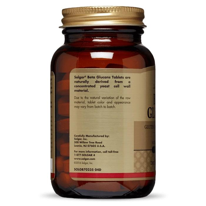 Бета глюканы, Solgar, 60 таблеток