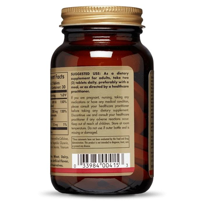 Кальций из раковин устриц с витамином D3, Solgar