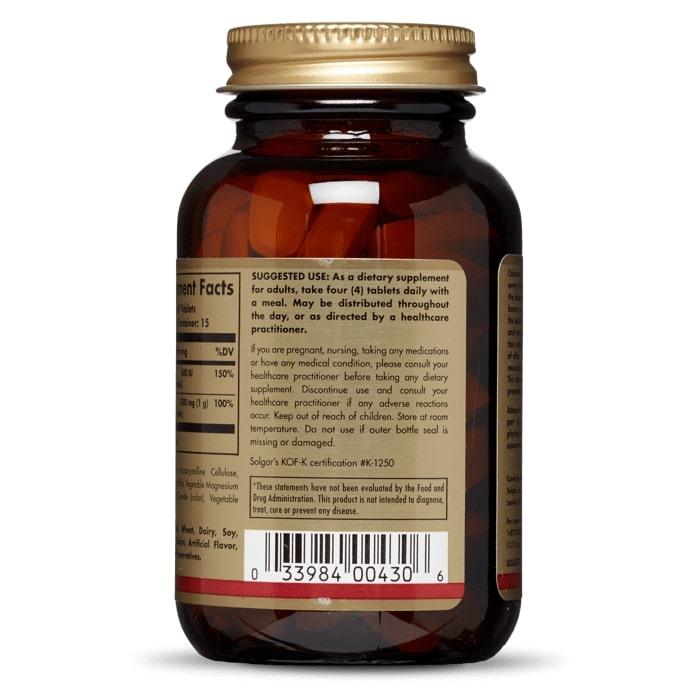 Цитрат кальция с витамином D3, Solgar