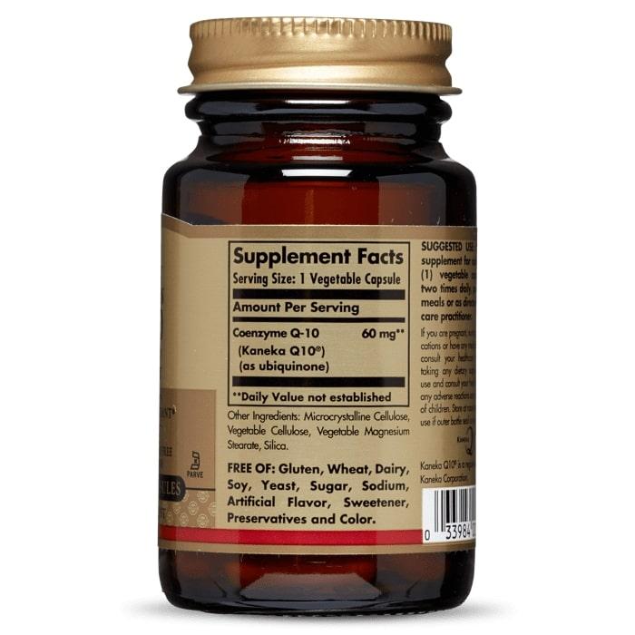 Коэнзим Q10 вегетарианский, Solgar, 60 мг.