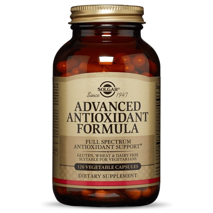 Антиоксидантная формула, Advanced Antioxidant Formula, Solgar