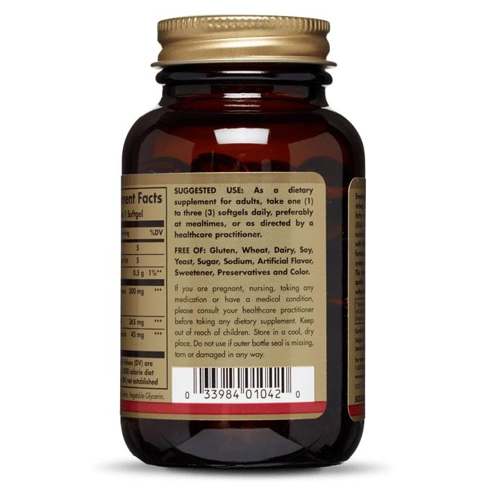Масло вечерней примулы, 500 мг.