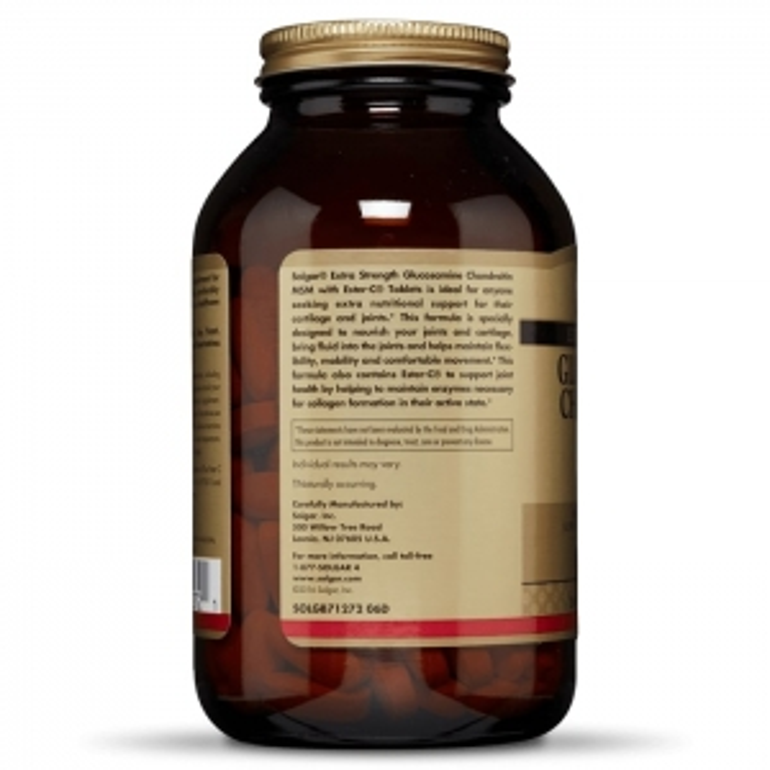 Глюкозамин, хондроитин с МСМ и Эстер С,  Solgar, 180 капсул